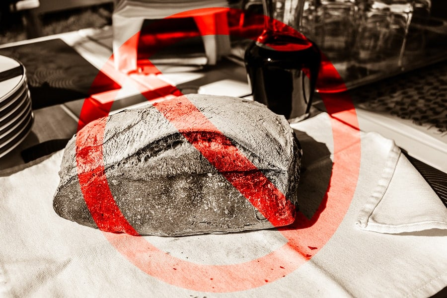 Why You Shouldn't Keep Bread on the Counter