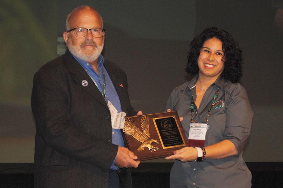 Paul Sharp Wins Distinguished Fischer Award